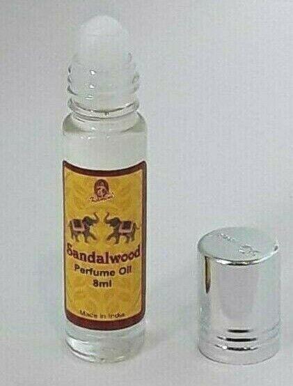 Kamini Roll On Perfume Sandalwood Premium Natural Perfume Fragrance Scented Oil