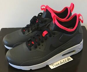 Details about DS Nike Air Max 90 Mid Ultra Winter sz8 Anthracite 1 95 97 98 trainer 924458 003