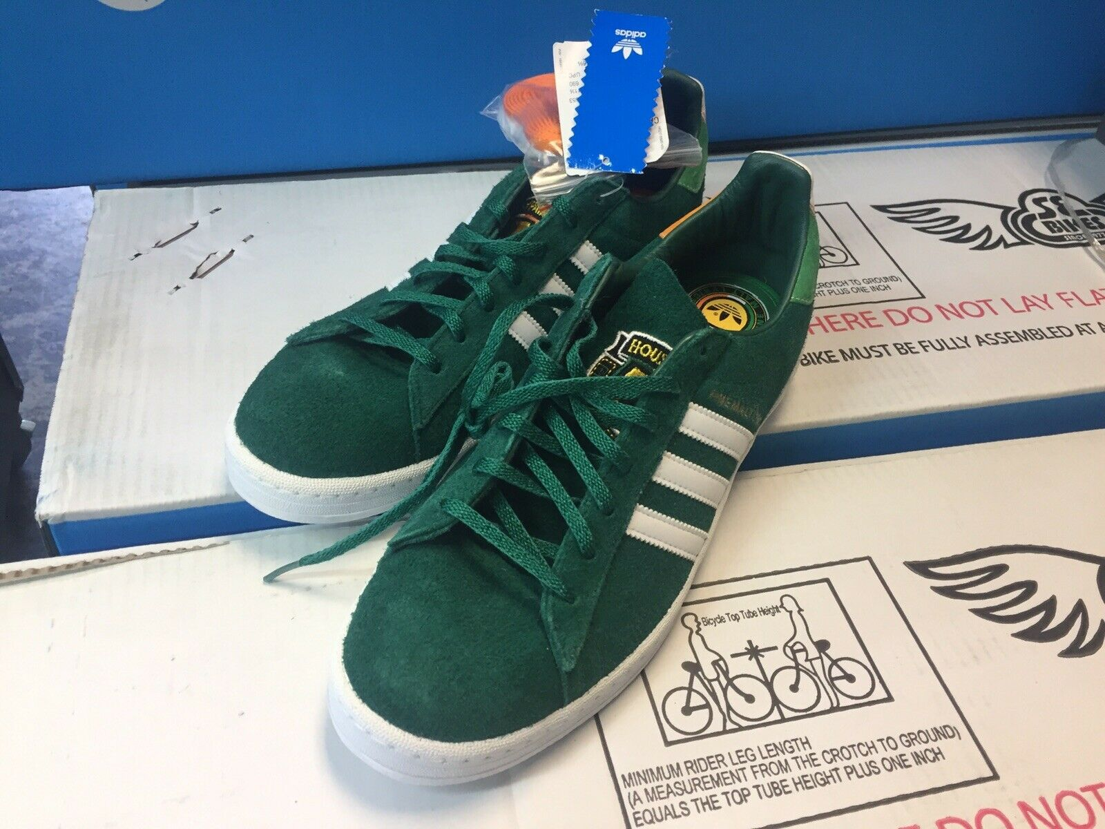 HOUSE OF PAIN ADIDAS SNEAKERS, Size 12