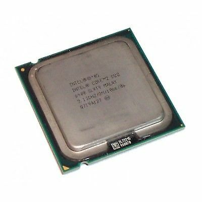 Lot of 2 Intel SL9T9 core 2 duo 6400 2.13ghz 1066MHz 2m socket 775 CPU 62