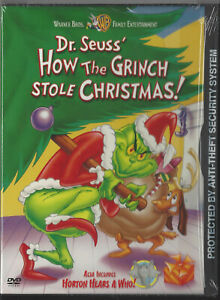 DVD-Animated-Dr-Seuss-039-How-The-Grinch-Stole-Christmas-2002