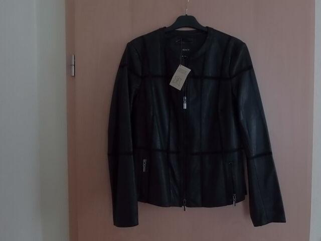 """Damen Leder Jacke """"Bonita""""Neu,Gr.38.Schwarz"""