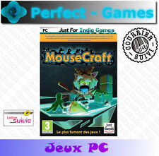 MOUSECRAFT le mix parfait TETRIS et LEMMINGS DVD ROM PC jeu neuf new game