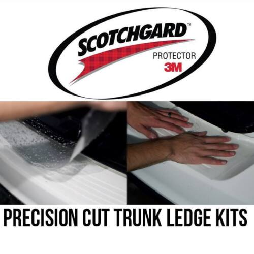 3M Scotchgard Paint Protection Film Pro Series Clear Trunk Ledge for BMW Cars