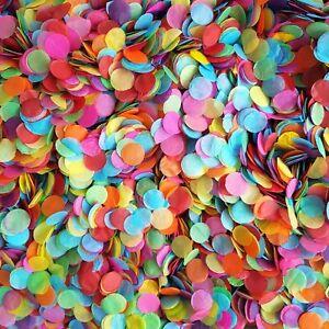 Biodegradable-Confettis-Bright-Rainbow-Mix-parfait-pour-le-carnaval-Festival-Mariage