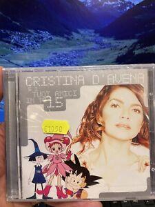 CRISTINA D'AVENA E i tuoi amici in tv 15 cd Molto Raro Nuovo Sigillato Introvabi