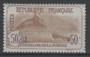 FRANCE-STAMP-TIMBRE-N-153-034-ORPHELINS-50c-50c-LION-BELFORT-034-NEUF-xx-TTB-N675