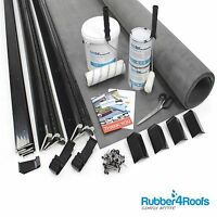 Epdm Rubber Roof Kit For Free Standing Garage All Sizes Available - 50 Year Life