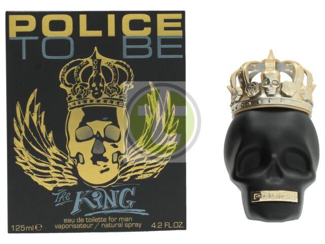 Police To Be The King For Man Edt Spray 125ml MEN Eau de Toilette
