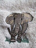 Elephant Novelty Guest Towel