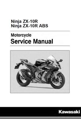 Other Motorcycle Manuals Kawasaki Ninja ZX-10R ZX10R 2016 2017 ...