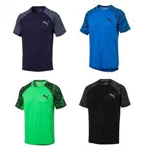 Puma-Dri-Release-SS-Graphic-Fitness-Sportshirt-Trainings-Shirt-T-Shirt-Herren