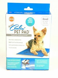 K-amp-H-Coolin-039-Pet-Pad-Superior-Cooling-Power-Small-11-034-x-15-034-Blue-No-Toxic-Gels-New