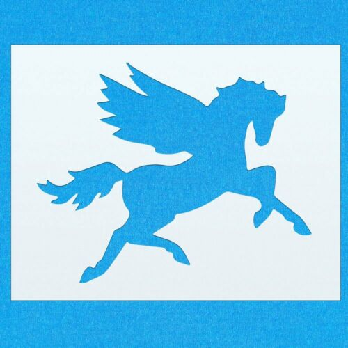 Pegasus Horse Mythical Creature Mylar Airbrush Painting Wall Crafts Stencil 2