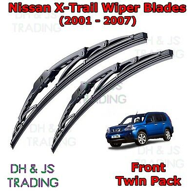 Front Windscreen Flat Blade Wipers Smart Forfour Aero Wiper Blades 04-06