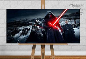 Kylo Ren Poster Wall Art Print Picture Jedi Master Darth Vader Star Wars Frame
