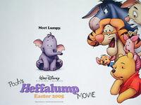 Pooh's Heffalump Movie Original 30x40 Uk Quad Movie Poster