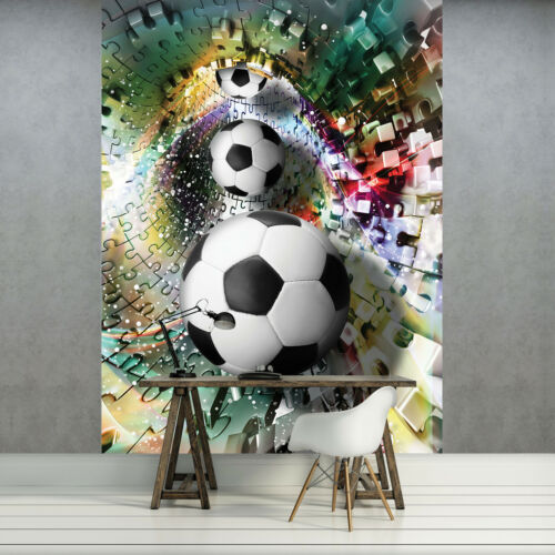 VLIES FOTOTAPETE FOTOTAPETEN BILD TAPETE POSTER SPORT BALL 3D PUZZLE 3FX3381VEA