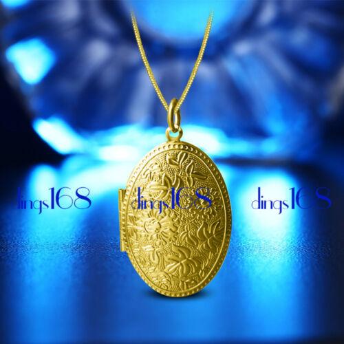 collier 18 In environ 45.72 cm Chaîne Bijoux D540G 18K Gold Filled Chic Véritable Médaillon Pendentif