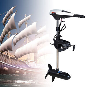 moteur lectrique hors bord pour barque bateau pneumatique 45 lbs outboard motor ebay. Black Bedroom Furniture Sets. Home Design Ideas
