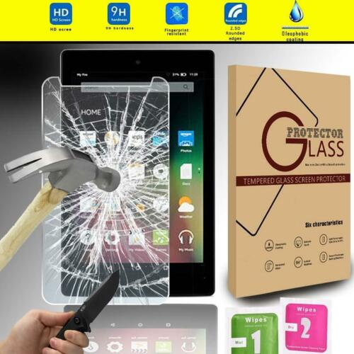 "HD 8/""// HD 10/"" Tablet Tempered Glass Screen Protector For Amazon Kindle fire 7/"""