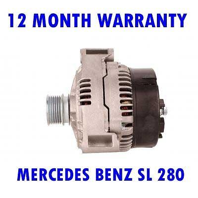 MERCEDES BENZ SL 280 320 1993 1994 1995 1996 1997-2001 ALTERNATOR