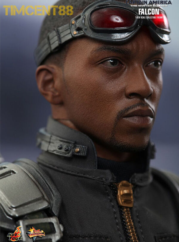 Hot Toys MMS245 Capitán América Winter Soldier  Falcon Anthony Mackie 1 6 figura