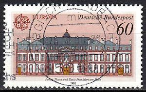 1461-Vollstempel-gestempelt-in-Berg-Gladbach-BRD-Bund-Deutschland-Jahrgang-1990