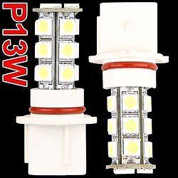 2 AMPOULE P13W A 18 PASTILLE TRIPLE COEUR = 54 LED SMD - BLANC XENON PEUGEOT 508