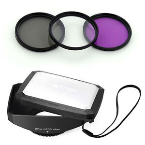 46mm-16-9-Wide-Lens-Hood-Filter-Kit-for-JVC-Everio-GZ-HD3-HD7-HM1-HM400-MG555-US