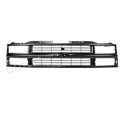 94-99 Suburban C1500 Front Grille GM1200239 Mat Black 00 Tahoe Z71 Fits 15981092