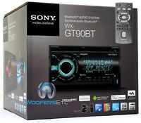 Sony Wx-gt90bt 2-din Cd Mp3 Usb Aux Stereo Bluetooth Ipod Equalizer Pandora on Sale