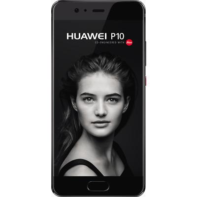 "Huawei P10 schwarz 64GB LTE Android 5,1"" Smartphone ohne Simlock 20MPX Kamera"