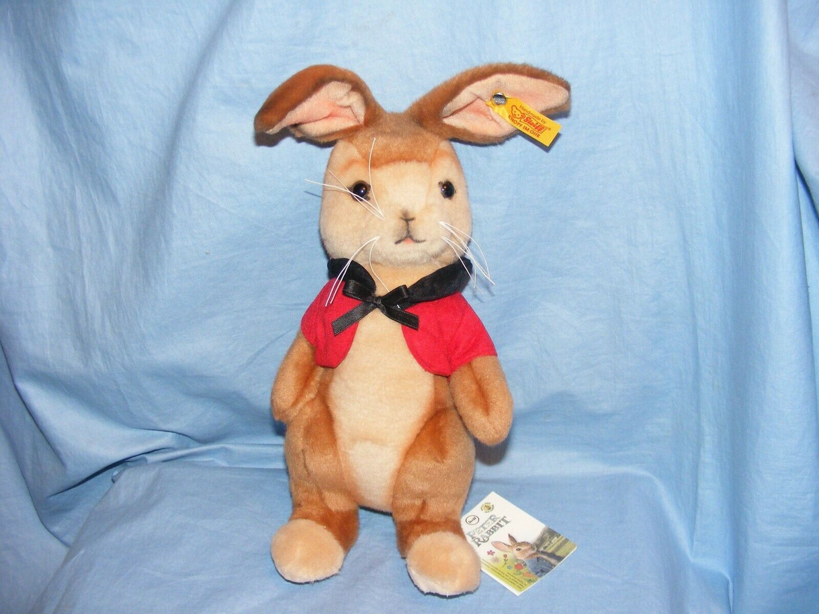 Steiff FLOPPY BUNNY Peter Rabbit Beatrix Potter Nuovo di Zecca 355264 Peter Rabbit