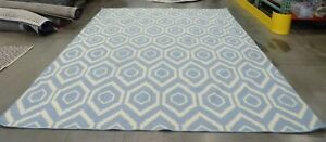 Blue-Ivory-8-039-x-10-039-Open-area-rug-reduced-price-1172570045-DHU556B-8