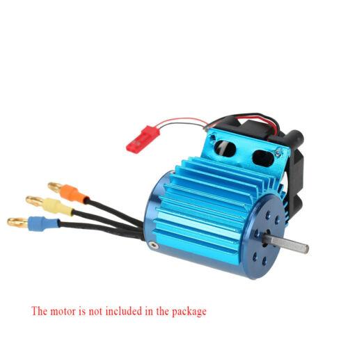 7016 Motor-Kühlkörper Mit Lüfter Für 1//16 Hsp Rc Auto 370//380//390 Motor