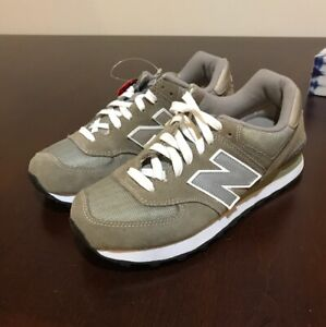 Details about New Balance M574GS Sneakers Men's Size 8 Extra Wide EE New Grey 574 Shoes 2E