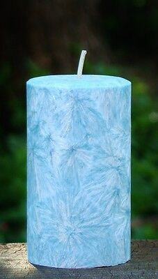 200hr PEPPERMINT /& BLUE GUM Scented SINUS /& HEAD COLD RELIEF Natural CANDLE