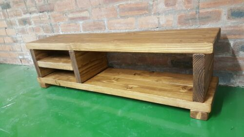 TV Stand//TV Unit//Solid Rustic Handmade TV stand//Entertainment Stand//TV Cabinet