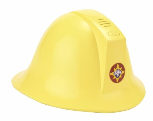 Fireman Sam Helmet Toy With Sound Playset Hard Plastic