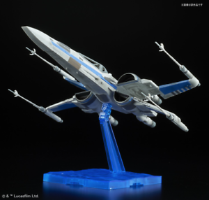 bluee Squadron Resistance X-Wing Fighter - 1 72 Star Wars Last JEDI