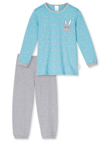 Schiesser Kinder Mädchen Pyjama  92 98 104 116 128 140 *154328* türkis NEU