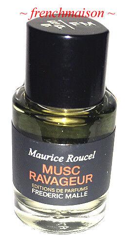 Frederic Malle French Paris 7ml Travel Splash New Authentic MUSC RAVAGEUR + Cap