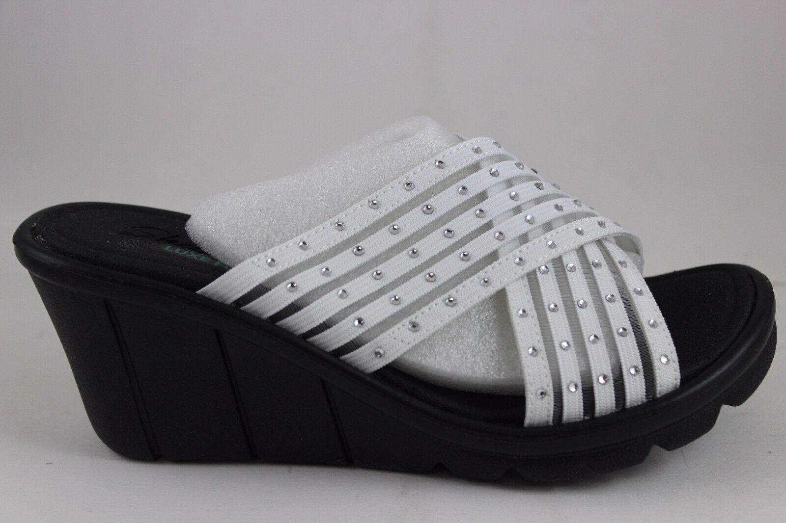 Skechers Vestibilità Comoda Donna Promenade-Star Luce Bianca 38947 38947 38947   di Luxe 358464