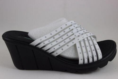 Skechers Promenade Luxe 38947 Comoda Donna Bianca Di star Luce Vestibilità 7q7rS