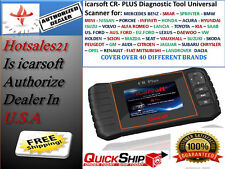 professional universal OBD2 diagnostic scanne fault code reader iCarsoft CR PLUS