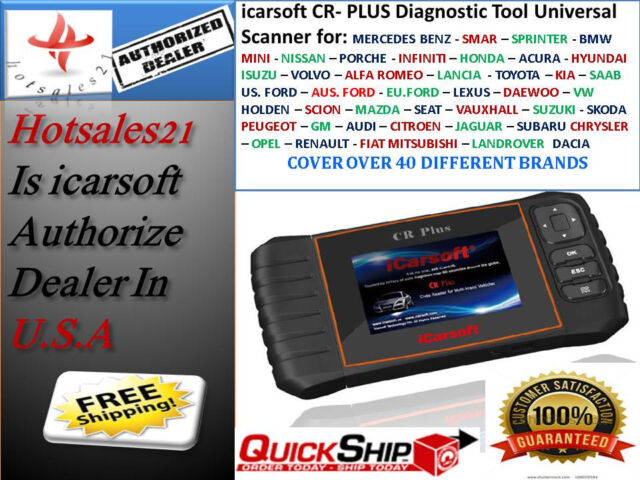 iCarsoft CR Plus Professional Diagnostic Scan Tool