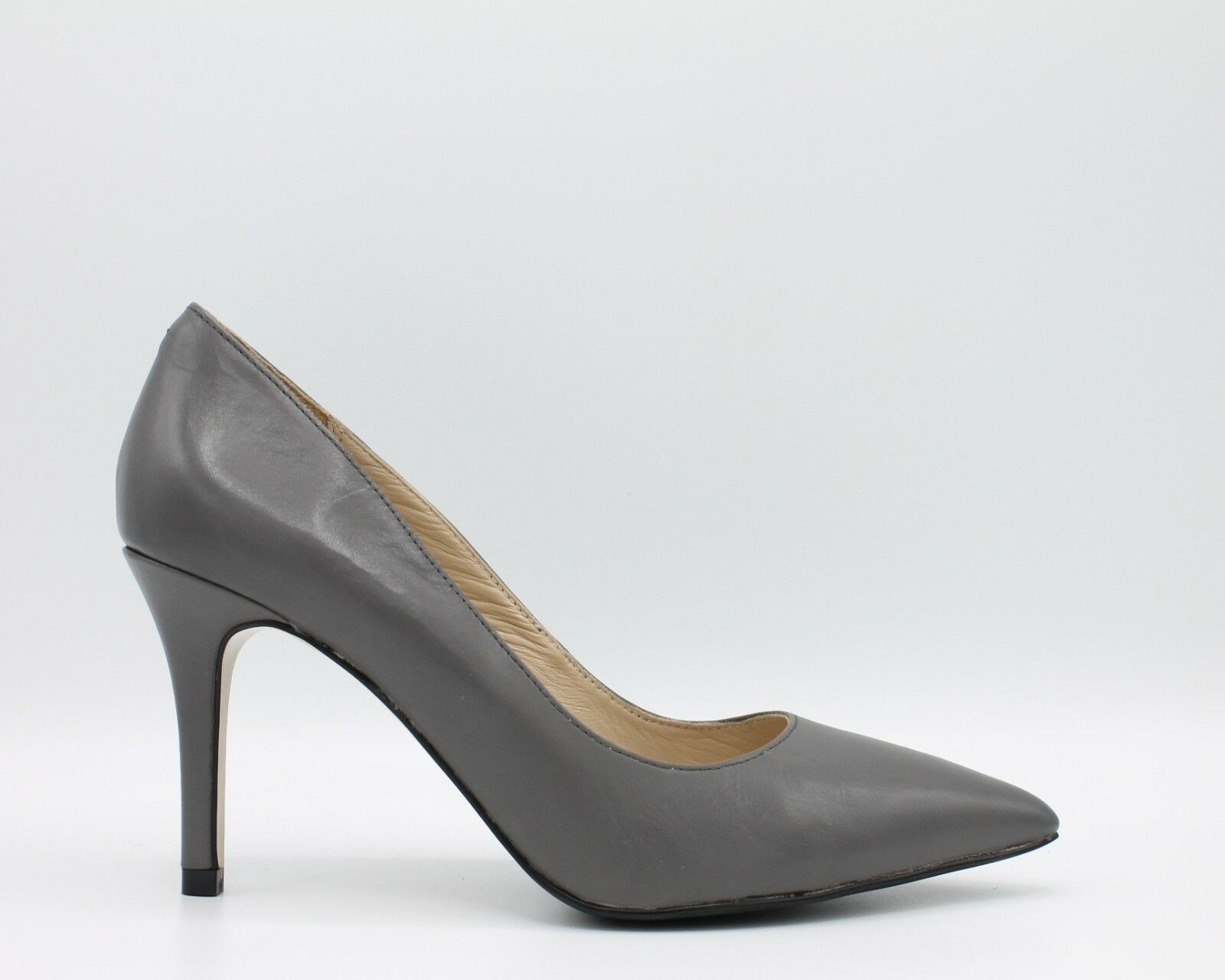 Cafè black women's shoes Spanking Grey Leather MH101