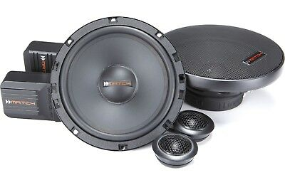 """NEW Helix Match MS 62C 6.5/"""" 2-Way Component Replacement Speakers"""