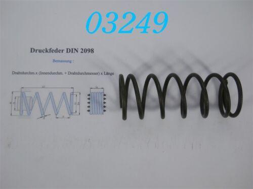 DRUCKFEDER DIN 2098  4,0 x 40 x 105